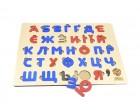 Алфавіт дерев'яний український